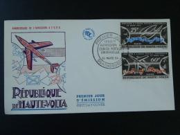 UPU Avion Aircraft Poste Aérienne Airmail Post FDC Haute Volta 1964 - Vliegtuigen