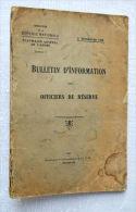 Armée / Militaire / BULLETIN D´INFORMATION DES OFFICIERS DE RESERVE - 1926 / Militaria - Livres