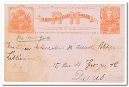 Haiti, 2 Centimes Postcard - Haïti