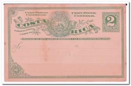 Costa Rica, 2 Centavos Postcard - Costa Rica