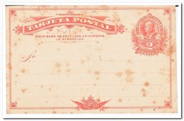 Costa Rica, 2 Centimos Postcard - Costa Rica