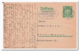 Deutsches Reich 1926 Postcard, Stempel Elberfeld - Allemagne