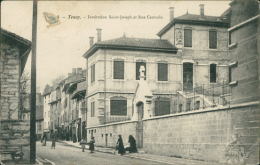 01 TENAY / Institution Saint-Joseph Et Rue Centrale / - France