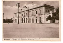 Aversa - Piazza  Del Littorio E Stazione Centrale - Aversa
