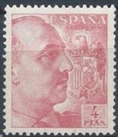 ESPAGNE - 4 P. Rose Pale Franco Neuf TTB - 1931-50 Neufs