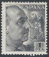 ESPAGNE - 1 P. Gris-noir Franco Neuf TTB - 1931-50 Neufs