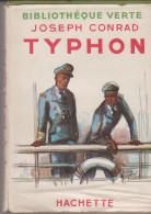 Bibliothèque Verte Typhon De Joseph Conrad - Bibliotheque Verte