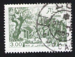 Algérie Oblitération Ronde Used Stamp Paysage Verdoyante - Algerien (1962-...)