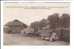 Manufacture De Fibres De Bois. Usine à La Croix St-Leufroy (Eure) - France