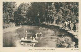 89 HERY / Baignade Sur Le Serein / - Hery