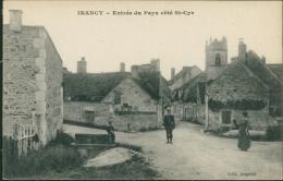 89 IRANCY / Entrée Du Pays Du Côté De Saint-Cyr / - Andere Gemeenten