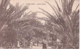 CPA Casablanca - Jardin Public (2105) - Casablanca