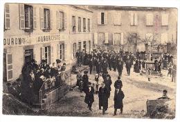 CPA (23) MAINSAT : Un Groupe De Républicains Au Banquet Du 14 Décembre 1905 - Other Municipalities