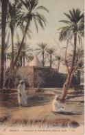CPA  Biskra - Marabout De Sidi-Brahim, Oasis De Laila (2115) - Biskra