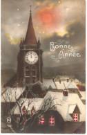Bonne Année En 1927 Avec Eglise - New Year