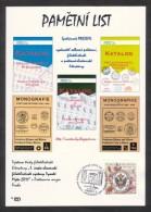 Czech Rep. / Commemorative Sheet (PaL 2011/02) Praha 1: Company PRESSFIL - Publisher Of Postal And Philatelic Literature - Blocks & Sheetlets