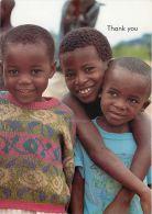 Young Children UNICEF, Zambia Postcard - Zambia