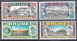 Brunei.   Scott No. 176-79    Mnh     Year  1972 - Brunei (1984-...)