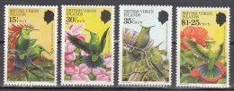 British Virgin Isl.    Scott No. 422-25     Mnh    Year  1982 - Britse Maagdeneilanden