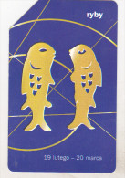 Poland Old Phonecard - Zodiac Signs - Pisces - Zodiaco