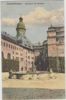 AK - Sonderhausen - Schlosshof 1915 - Sondershausen