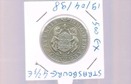 4 2/3  EURO De STRASBOURG . 500 Exemplaires - Euros Of The Cities