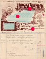 Milnsbridge  Huddersfield 1910 John Leitch Aniline Dye And Chemical Manufacturers - Royaume-Uni