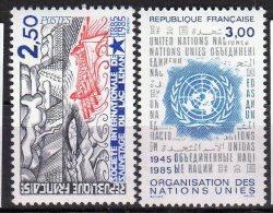 Lot - N° 2375/77-2379- Neuf** - Sujets Liberté De Gandon - FRANCE - 1982-90 Liberté De Gandon