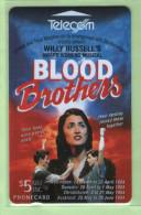 New Zealand - 1994 Blood Brothers Musical - $5 - NZ-A-36 - VFU - New Zealand
