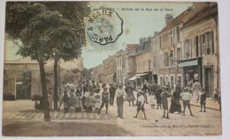 Bondy Entrée Rue De La Gare  CPA 1906 Seine Saint Denis 93 - Bon état ( Rousseurs Au Dos ) - Bondy