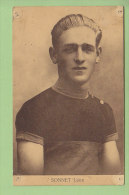 Léon SONNET. 2 Scans. Sportkaarten Frank, Nels - Cyclisme