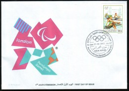 ALGERIA ALGERIE ALGERIEN - 2012 - JO London - Paralympic Games- Rowing Aviron Rudern Remo - Summer 2012: London