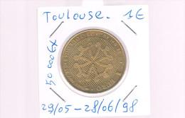 1 EURO De TOULOUSE . 50 000 Exemplaires . - Euros Of The Cities