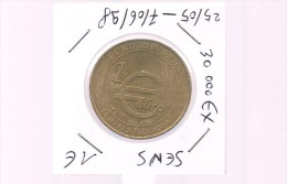 1 EURO De SENS . 30 000 Exemplaires . - Euros Of The Cities