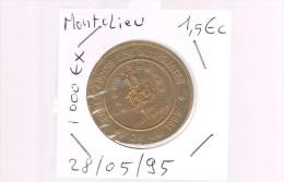1,5 EURO De MONTOLIEU . 1 000 Exemplaires . - Euros Of The Cities