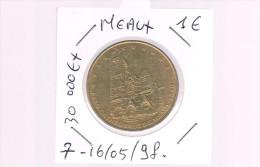 1 EURO De MEAUX . 30 000 Exemplaires . - Euros Of The Cities