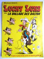 RARE ALBUM DARGAUD 1978 LUCKY LUKE LA BALLADE DES DALTON  incomplet (3) - pas Panini