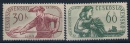 **Czechoslovakia 1960 Mi 1199-1200 (2) MNH - Ungebraucht