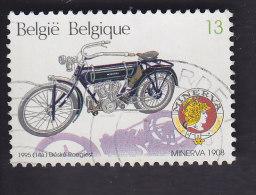 Belgique: Motocyclettes Belges Anciennes. Minerva 1908. 2615 - Motorbikes