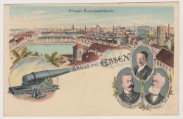 Gruss Aus Essen, Krupp Gusstahlfabrik, Kanone - Essen
