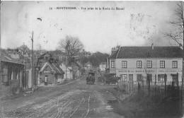 Montdidier Vue Prise De La Route Du Mesnil Bon Etat - Montdidier