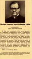 Monsignor Josemaria Escrivà De Balaguer Y Albàs - Santini