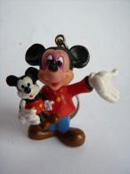 figurine PC MICKEY AVEC POUPEE DE MICKEY  - APPLAUSE