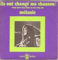 Mélanie 45t. SP *ils Ont Changé Ma Chanson* - Discos De Vinilo