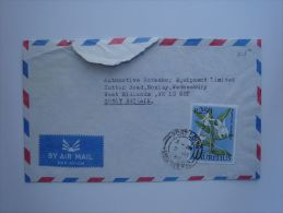 Mauritius 1987 Commercial Cover To UK Nice Stamp - Maurice (1968-...)