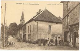 25 - DOUBS - AMANCEY - Rue De L'église - Autres Communes