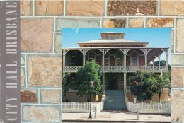 School Of Arts, Brisbane, Queensland Australia Postcard Used Posted To UK 1995 Stamp - Brisbane