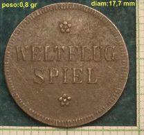 M_p> Gettone Weltflug Spiel - Germania