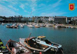Port St Mary Harbour, Isle Of Man Postcard #1 - Isola Di Man (dell'uomo)