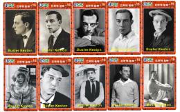 M03960 China Phone Cards Buster Keaton 70pcs - Cinema